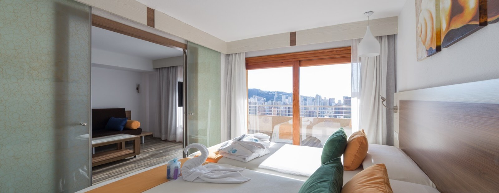 Views of the suite at Sandos Benidorm Suites